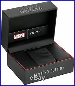 Invicta 25684 Marvel Men's 53mm Chronograph Gold-Tone Black Dial Watch