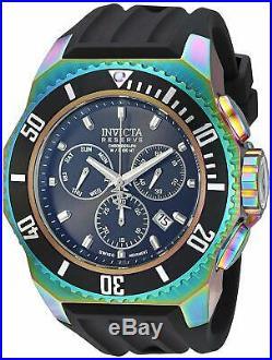 Invicta 25734 Russian Diver Men's 52mm Chronograph Rainbow Black Dial Watch