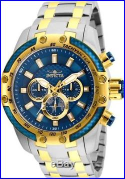 Invicta 25947 Men's Speedway Chrono Blue Dial Two Tone Steel Watch