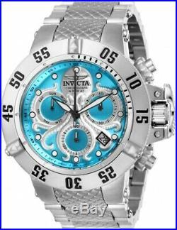 Invicta 26130 Subaqua Men's 50mm Chronograph Stainless Steel Ocean Blue Dial