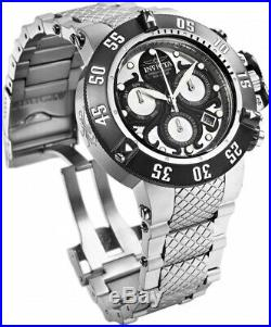 Invicta 26131 Subaqua Men's 50mm Chronograph Stainless Steel Black/Silver Dial