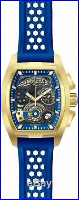 Invicta 26399 S1 Rally Diablo Men's 42mm Chronograph Gold-Tone Blue Dial Watch