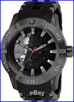 Invicta 26547 Star Wars Men's Automatic 50mm Black-Tone Steel Black Dial Watch