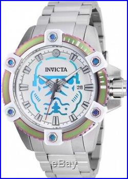 Invicta 26555 Star Wars Men's 48mm Automatic Stainless Steel White Dial Watch