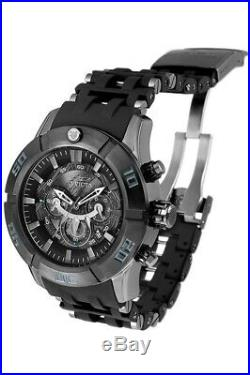 Invicta 26749 Marvel Black Panther Men's 50mm Chronograph Gunmetal Rubber
