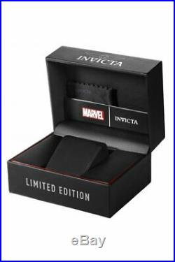 Invicta 26780 Marvel Men's 52mm Chronograph Stainless Steel Blue Dial Watch