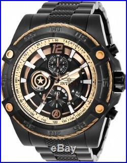 Invicta 26795 Marvel Men's 52mm Chronograph Black-Tone Steel Black Dial Watch