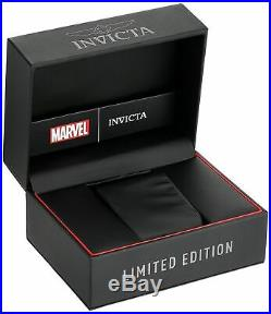 Invicta 26859 Marvel Men's 52mm Chronograph Black-Tone Stainless Steel Watch