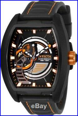Invicta 26893 S1 Rally Diablo Men's 42mm Automatic Balck Steel Black Dial Watch