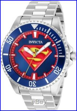 Invicta 26896 DC Comics Superman Men's 47mm Automatic Stainless Steel Blue Dial
