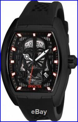 Invicta 26942 Star Wars Men's Automatic 42mm Black-Tone Black/Gunmetal Dial