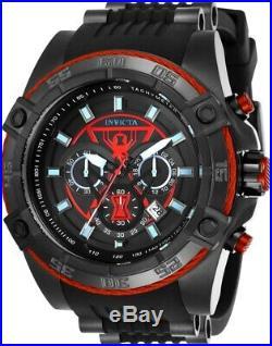 Invicta 26949 Marvel Men's 52mm Stainless Steel Black Black Dial VD53 Quartz