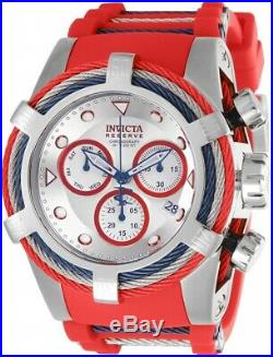 Invicta 27146 Bolt Men's 53mm Chronograph Stainless Steel Silver Dial Watch