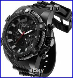 Invicta 27208 Star Wars Men's 52mm Chronograph Black-Tone Black Dial Watch