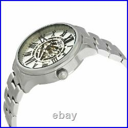 Invicta 27555 Men's 45mm Objet D Art Automatic Silver Dial Stainless Steel Watch