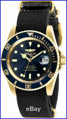 Invicta 27625 Pro Diver Men's 42mm Automatic Gold-Tone Steel Blue Dial Watch