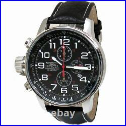 Invicta 2770 Men's Black Stainless Steel Lefty Chronograph Watch