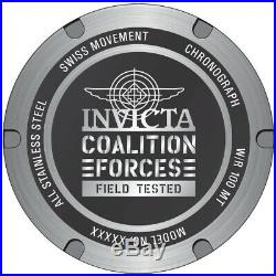 Invicta 27839 Coalition Forces Men's 51mm Chronograph Stainless Steel Watch