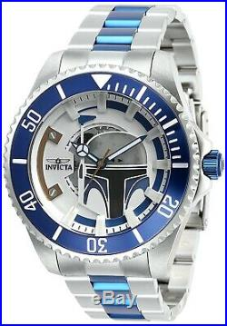 Invicta 28058 Star Wars Men's 47mm Stainless Steel Silver Dial Automatic Watch