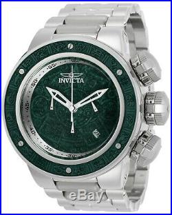 Invicta 28248 Subaqua Men's 52mm Chronograph Stainless Steel Blue Wood Dial