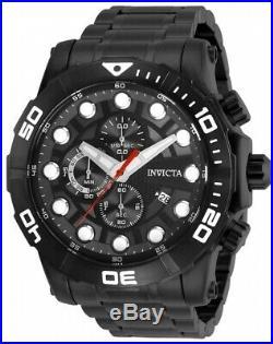 Invicta 28266 Sea Hunter Men's Chronograph 54mm Sblack-Tone Watch