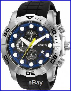 Invicta 28269 Sea Hunter Men's Chronograph 54mm Stainless Steel Blue Dial Watch
