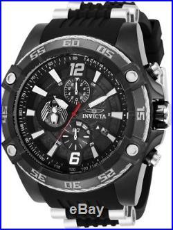 Invicta 28975 Marvel Venom Men's Chronograph 52.5mm Black Tone Steel Rubber