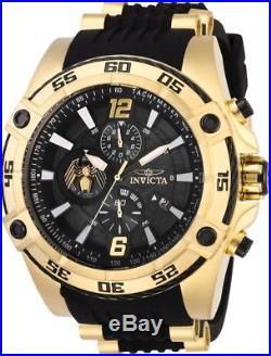 Invicta 28977 Marvel Venom Men's Chronograph 52.5mm Gold-Tone Steel Rubber