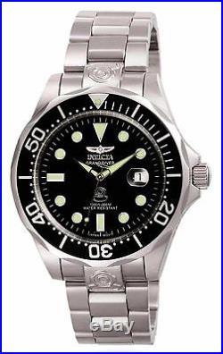 Invicta 3044 Men's NH35A Automatic Black Dial Grand Diver