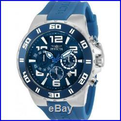 Invicta 30937 Pro Diver 48MM Men's Blue Silicone Watch