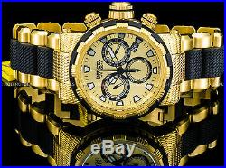 Invicta 46mm Men's Specialty Capsule Swiss Z60 Chronograph Gold Plated SS Watch