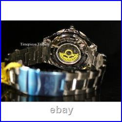 Invicta 47mm Grand Diver International Automatic Black Dial SS Men's Watch 21323