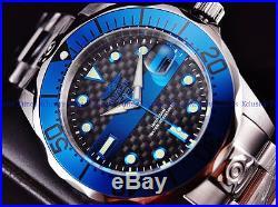 Invicta 47mm Men's 300m FireBlue Super Grand Diver Automatic Bracelet SS Watch