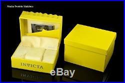 Invicta 48mm Men's AVIATOR GHOST BRIDGE 21j AUTOMATIC Gold Tone Bracelet Watch