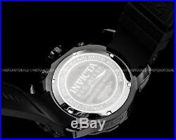 Invicta 48mm Mens Pro Diver Scuba Combat Chronograph Black Stainless Steel Watch