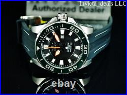 Invicta 52mm Men's GRAND DIVER Automatic LIMITED EDITION Black Dial Silver Watch
