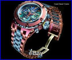 Invicta 52mm Reserve Men's Specialty Subaqua Noma Burgundy & Blue Quartz Watch