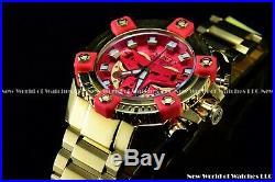 Invicta 63mm Marvel TONY STARK Iron man Grand Octane Swiss Chronograph LE Watch