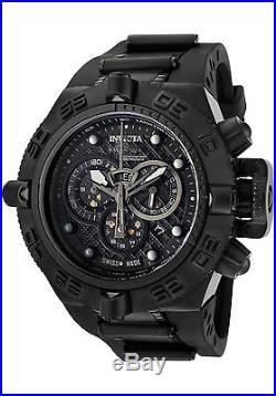 Invicta 6582 Mens Subaqua Noma IV Combat Swiss Chronograph Black Strap Watch
