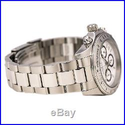 Invicta 7025 Men's Speedway White Dial Stainless Steel Chronograph Dive Watch