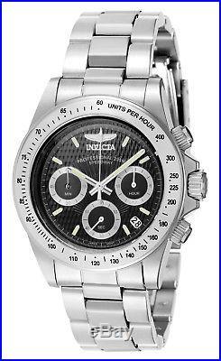 Invicta 7026 Men's Signature Speedway Black Dial Chrono Watch