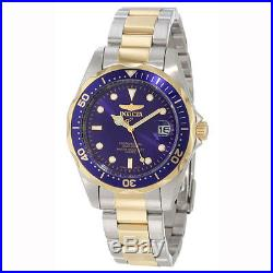 Invicta 8935 Men's Pro Diver Two Tone Blue Dial Watch
