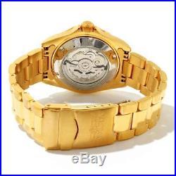 Invicta 9010OB Men's Pro Diver Automatic Yellow Gold Steel Watch