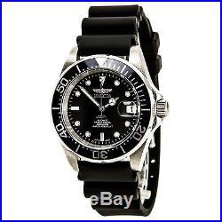Invicta 9110 Men's Pro Diver Black Automatic Jelly Watch