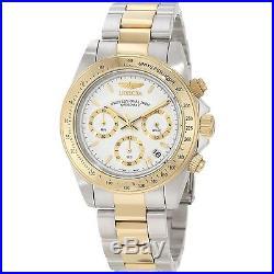 Invicta 9212 Men's Speedway White Dial Chronograph Watch