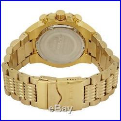 Invicta Bolt Chronograph Tachymeter Blue Dial Gold Tone Men's Watch 25542 SD