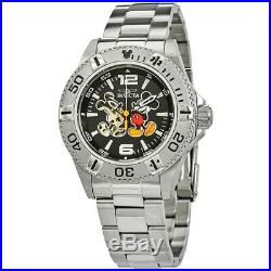Invicta Disney Limited Edition Automatic Mens Stainless Mickey Mouse Watch 27407