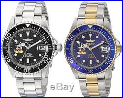 Invicta Disney Limited Edition Men's 40mm Automatic Watch Choice of Color