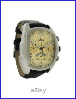 Invicta Lupah 23208 Men's Tonneau Gold Tone Chronograph Analog Watch