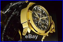 Invicta Man-of-War Coalition Force Men's 53mm Swiss Chronograph Gold Tone Watch